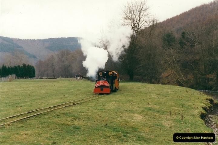 2000-03-10 Rhiw Valley Railway, North Wales.  (14)020