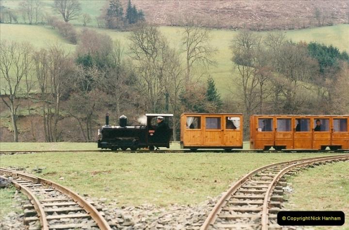 2000-03-10 Rhiw Valley Railway, North Wales.  (18)024
