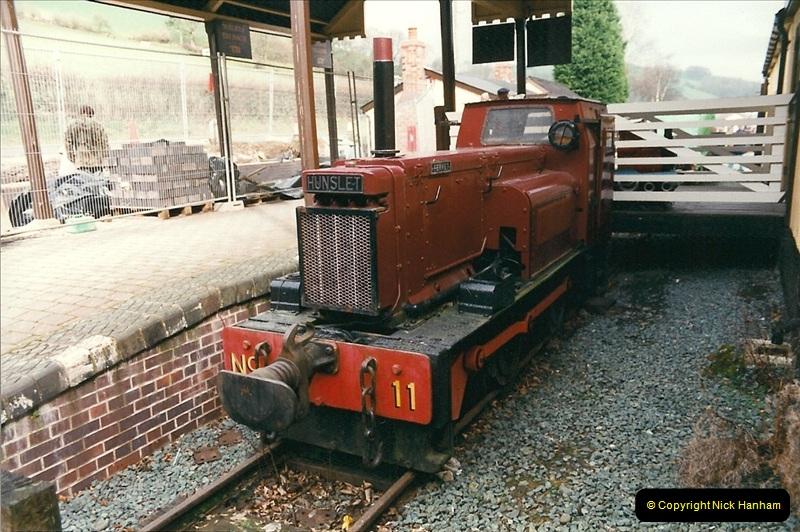 2000-03-10 Welshpool & Llanfair Railway, North Wales.  (16)044