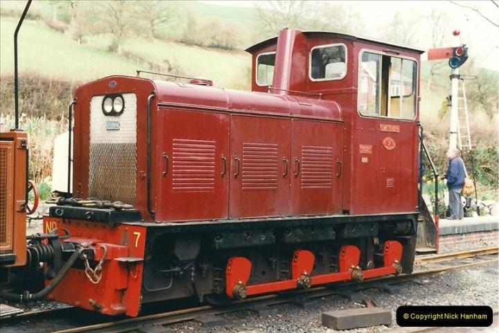 2000-03-10 Welshpool & Llanfair Railway, North Wales.  (17)045
