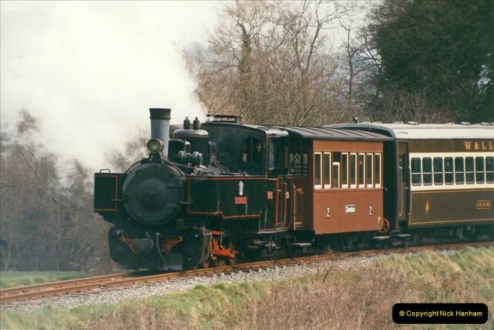 2000-03-10 Welshpool & Llanfair Railway, North Wales.  (26)054