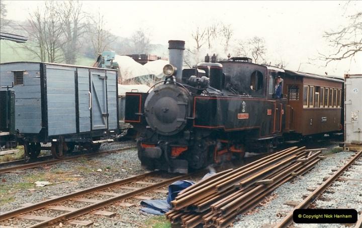 2000-03-10 Welshpool & Llanfair Railway, North Wales.  (31)059