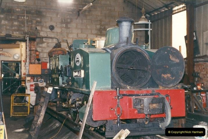 2000-03-10 Welshpool & Llanfair Railway, North Wales.  (33)061
