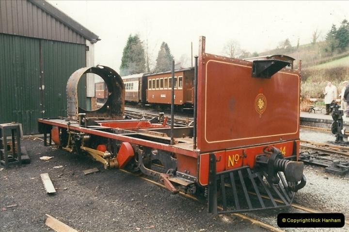2000-03-10 Welshpool & Llanfair Railway, North Wales.  (35)063