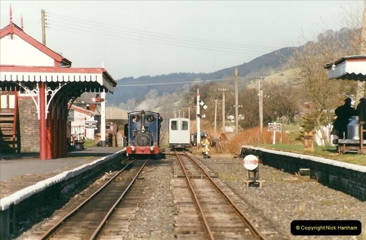 2000-03-11 Bala Lake Railway, North Wales.  (12)076