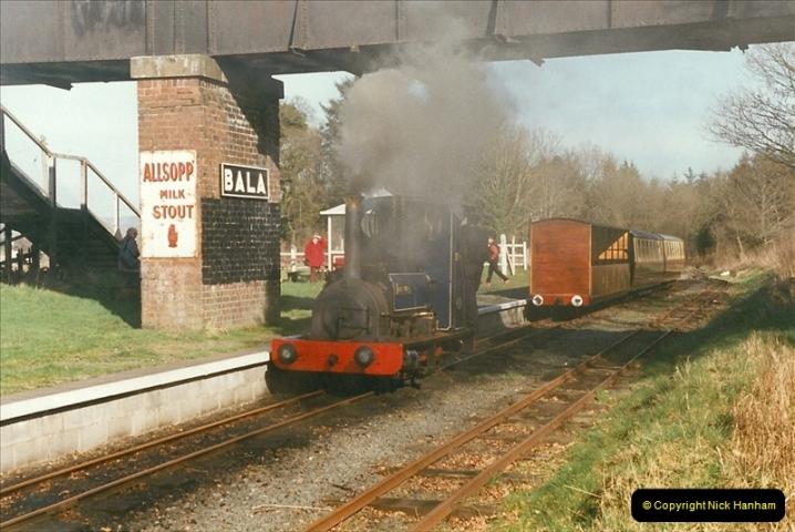 2000-03-11 Bala Lake Railway, North Wales.  (2)066