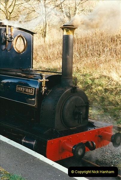 2000-03-11 Bala Lake Railway, North Wales.  (4)068