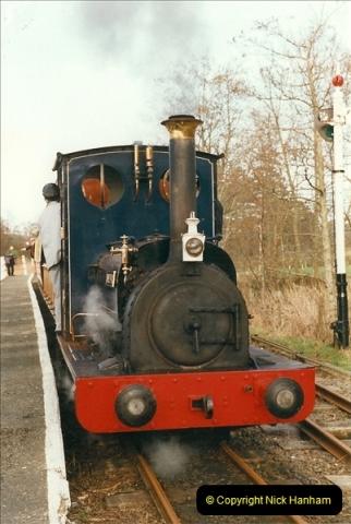2000-03-11 Bala Lake Railway, North Wales.  (6)070