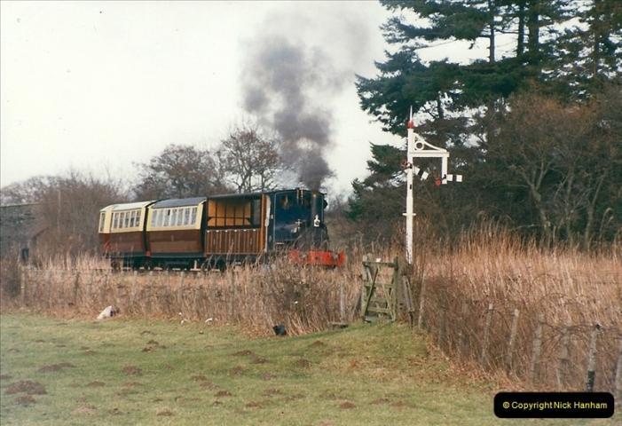2000-03-11 Bala Lake Railway, North Wales.  (7)071