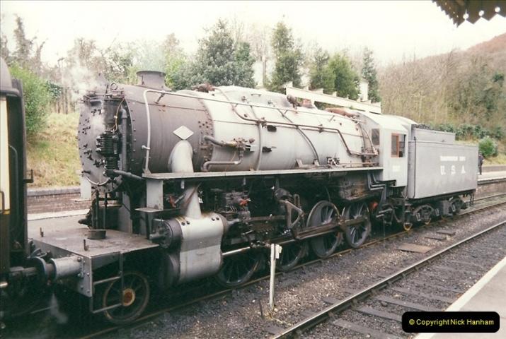 2000-03-11 Llangollen Railway, North Wales.  (10)089