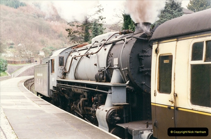 2000-03-11 Llangollen Railway, North Wales.  (15)094