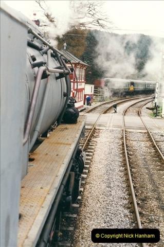 2000-03-11 Llangollen Railway, North Wales.  (26)105