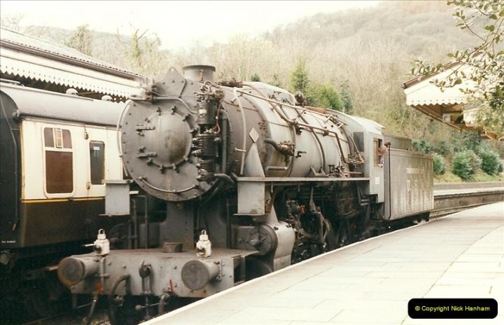2000-03-11 Llangollen Railway, North Wales.  (28)107