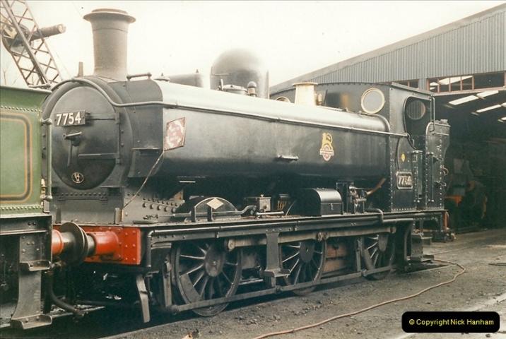 2000-03-11 Llangollen Railway, North Wales.  (31)110