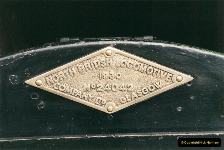 2000-03-11 Llangollen Railway, North Wales.  (32)111
