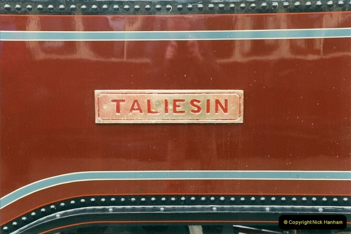 2000-03-12 Ffestinog Railway, North Wales.  (10)145