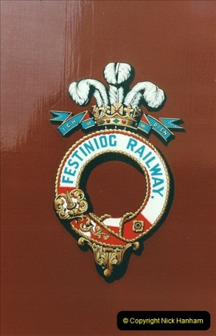 2000-03-12 Ffestinog Railway, North Wales.  (11)146