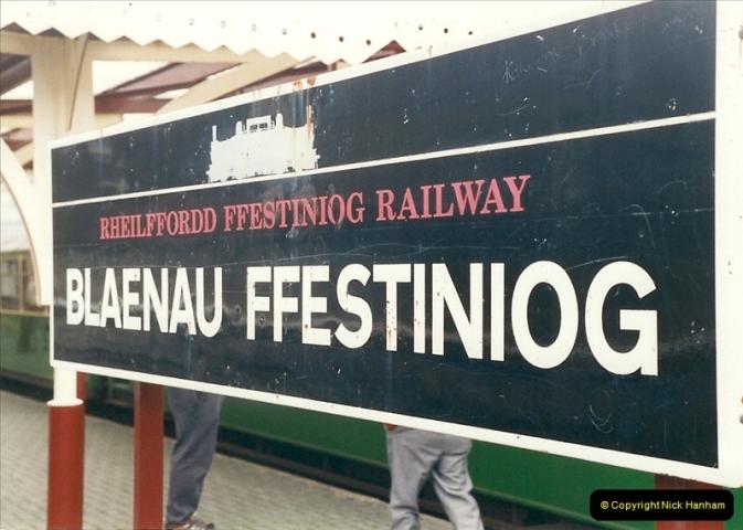 2000-03-12 Ffestinog Railway, North Wales.  (21)156