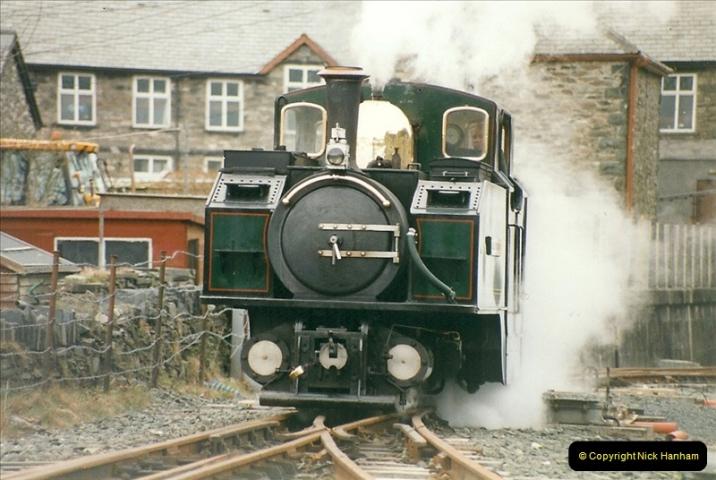 2000-03-12 Ffestinog Railway, North Wales.  (25)160