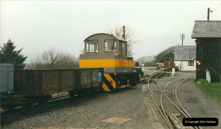 2000-03-12 Ffestinog Railway, North Wales.  (30)165