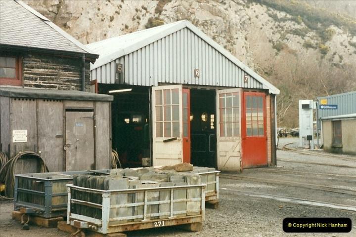2000-03-12 Ffestinog Railway, North Wales.  (31)166