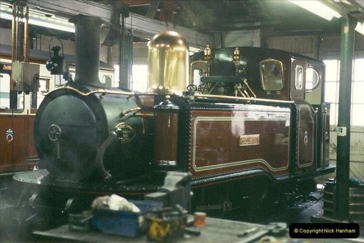 2000-03-12 Ffestinog Railway, North Wales.  (45)180