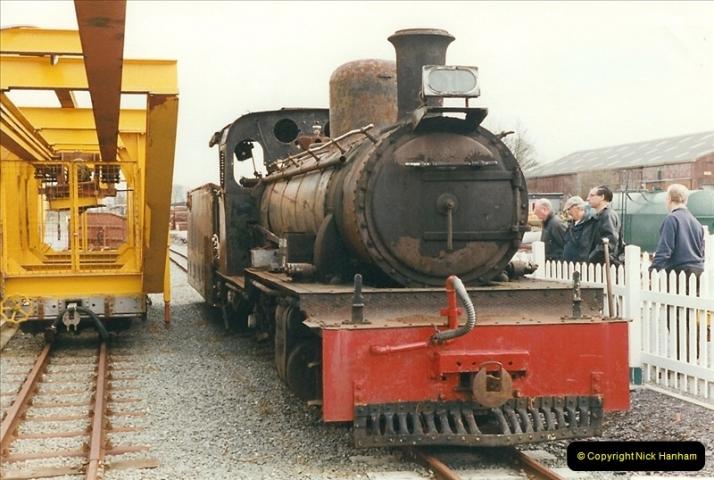 2000-03-12 Welsh Highland Railway, North Wales.  (1)187