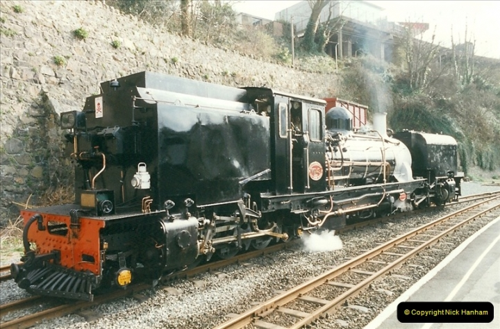 2000-03-12 Welsh Highland Railway, North Wales.  (17)203