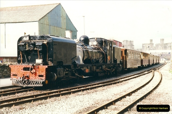 2000-03-12 Welsh Highland Railway, North Wales.  (19)205