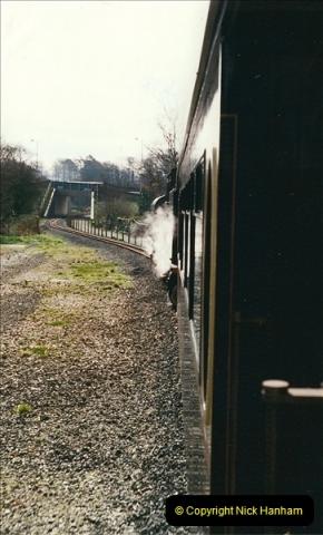 2000-03-12 Welsh Highland Railway, North Wales.  (25)211