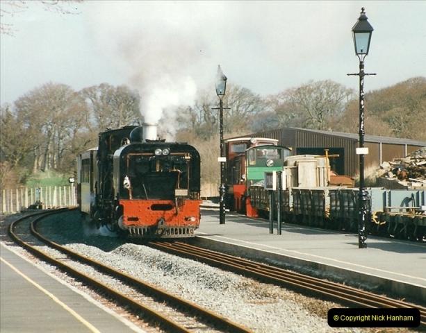 2000-03-12 Welsh Highland Railway, North Wales.  (26)212