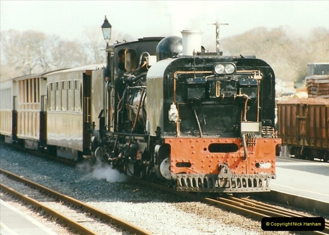 2000-03-12 Welsh Highland Railway, North Wales.  (27)213