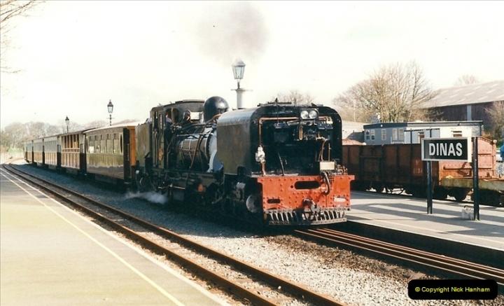 2000-03-12 Welsh Highland Railway, North Wales.  (28)214