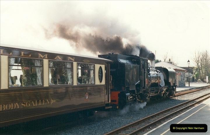 2000-03-12 Welsh Highland Railway, North Wales.  (29)215