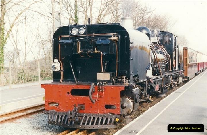 2000-03-12 Welsh Highland Railway, North Wales.  (30)216