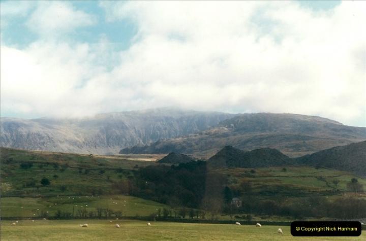 2000-03-12 Welsh Highland Railway, North Wales.  (31)217