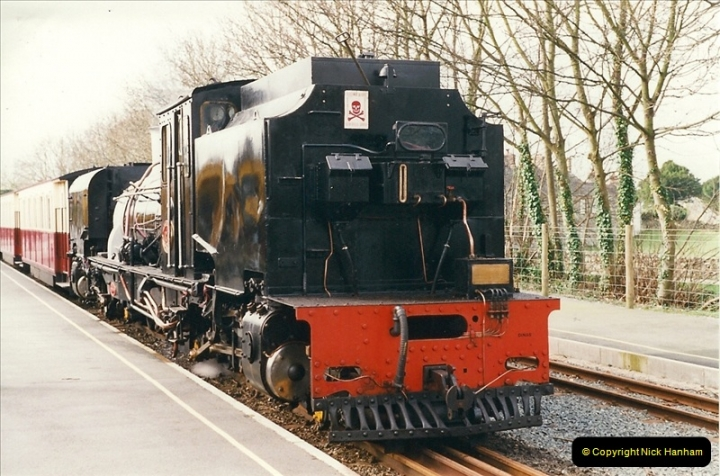 2000-03-12 Welsh Highland Railway, North Wales.  (6)192