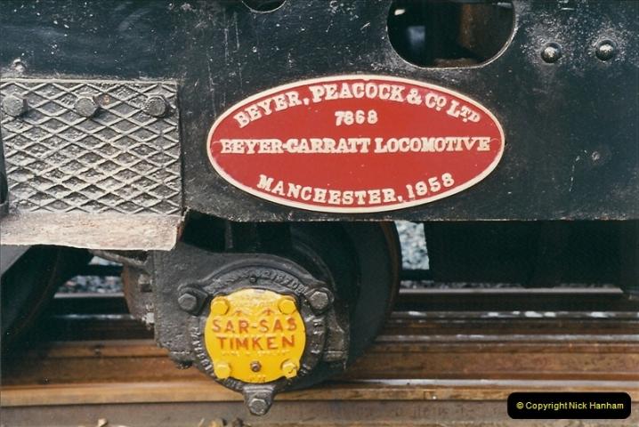 2000-03-12 Welsh Highland Railway, North Wales.  (9)195
