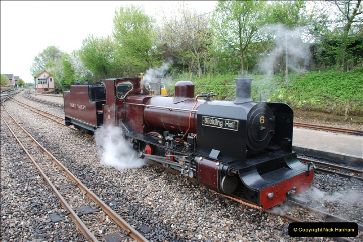 2010-05-06 Norwich & The Bure Valley Railway.  (29)595