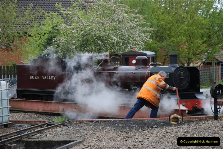 2010-05-06 Norwich & The Bure Valley Railway.  (42)608