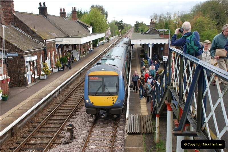 2010-05-07 Norwich, The Mid Norfolk Railway & The Whitwell & Reepham Railway.   (10)629
