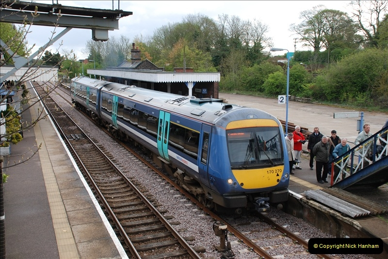 2010-05-07 Norwich, The Mid Norfolk Railway & The Whitwell & Reepham Railway.   (11)630