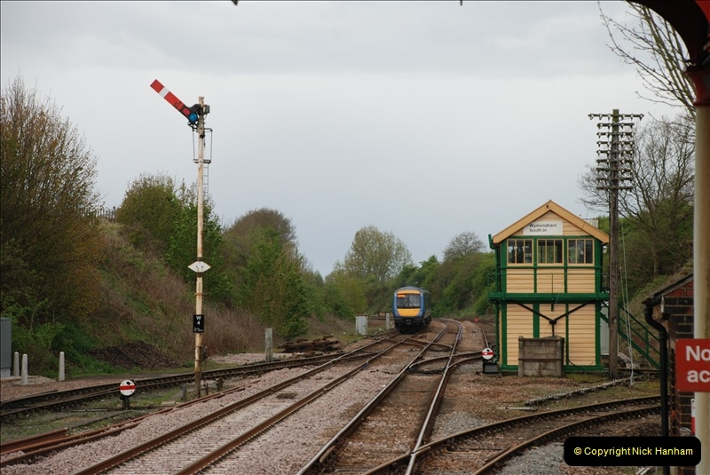 2010-05-07 Norwich, The Mid Norfolk Railway & The Whitwell & Reepham Railway.   (12)631
