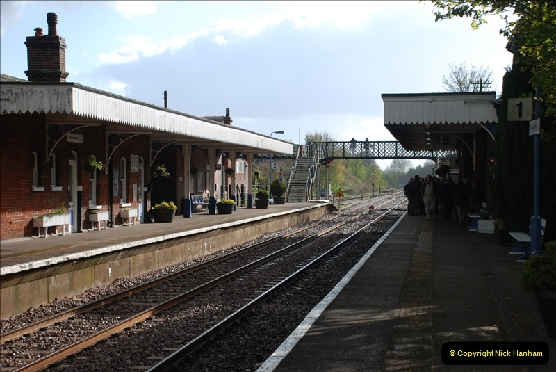 2010-05-07 Norwich, The Mid Norfolk Railway & The Whitwell & Reepham Railway.   (24)643