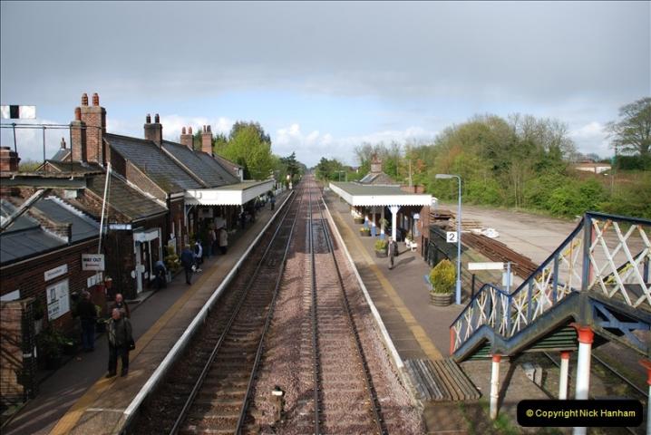 2010-05-07 Norwich, The Mid Norfolk Railway & The Whitwell & Reepham Railway.   (29)648