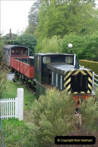 2010-05-07 Norwich, The Mid Norfolk Railway & The Whitwell & Reepham Railway.   (34)653