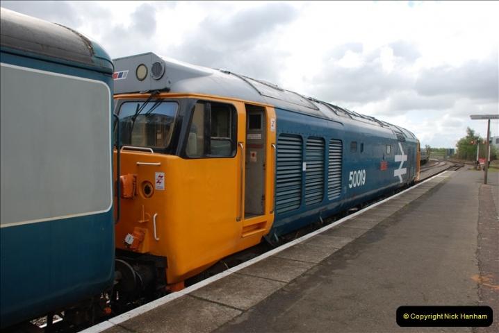2010-05-07 Norwich, The Mid Norfolk Railway & The Whitwell & Reepham Railway.   (38)657