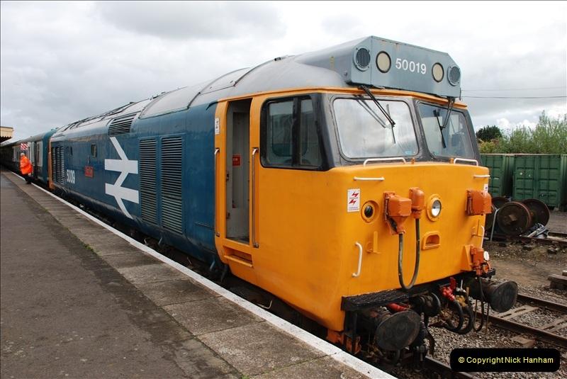 2010-05-07 Norwich, The Mid Norfolk Railway & The Whitwell & Reepham Railway.   (42)661