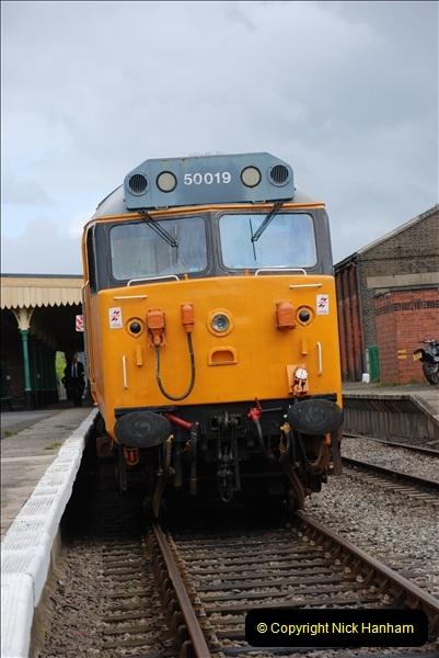 2010-05-07 Norwich, The Mid Norfolk Railway & The Whitwell & Reepham Railway.   (43)662