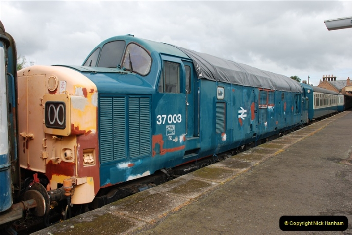 2010-05-07 Norwich, The Mid Norfolk Railway & The Whitwell & Reepham Railway.   (44)663